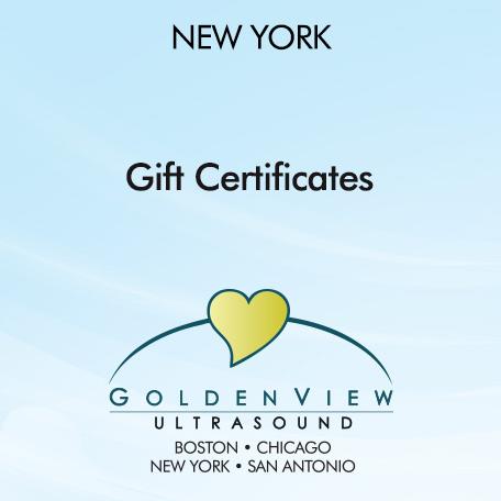 New York Gift Certificates